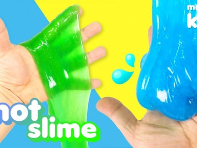How To Make Snot Jiggly Slime ! Liquid Starch Soft Watery Slime | MonsterKids