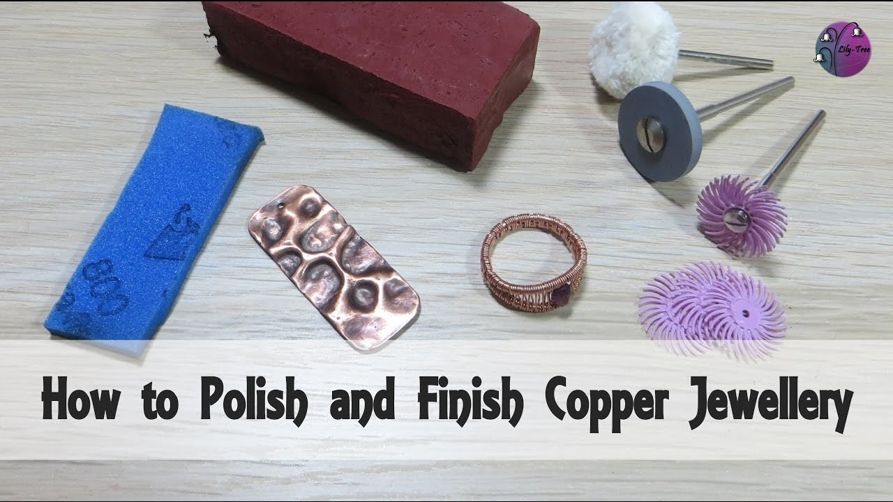 how to polish and finish copper jewellery. Black Bedroom Furniture Sets. Home Design Ideas