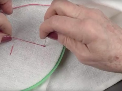 How To Sew A French Knot