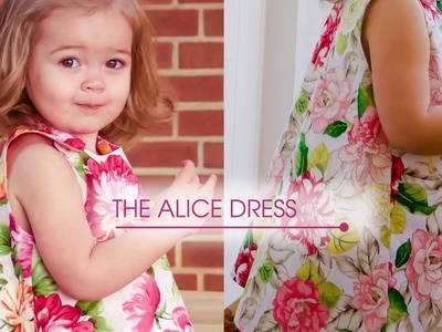 How to sew The Alice 1.5 - An a-line reversible dress sew along tutorial