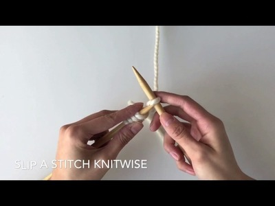 KNITTING FOR BEGINNERS: How to Knit the Seed Stitch