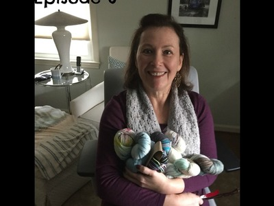 Knitting in the kitchen, new knitty goodness - The Slow Knitter - episode 6