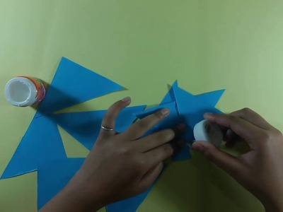 Origami flower - How to make origami flower easily - Origami flower tutorial step by step