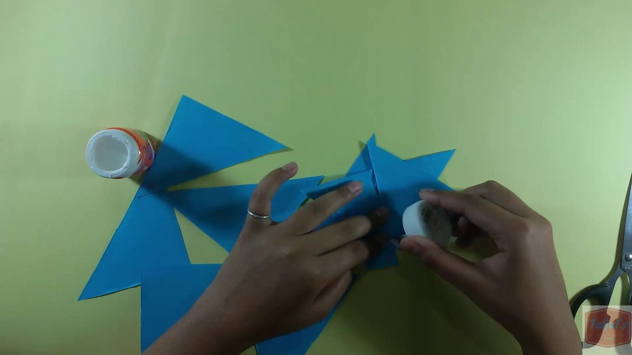 Origami flower how to make origami flower easily origami flower origami flower how to make origami flower easily origami flower tutorial step by step mightylinksfo Images