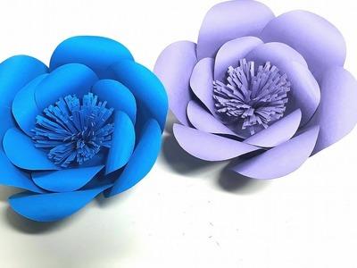 Origami Tutorial -  How to make Aurora Giant Flower