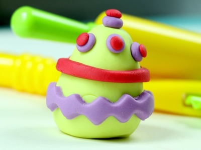 Play Doh Eggs - How to Make Clay Easter Eggs