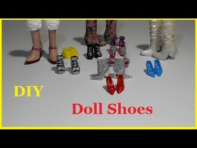 4 DIY | How to Make Doll Shoes!