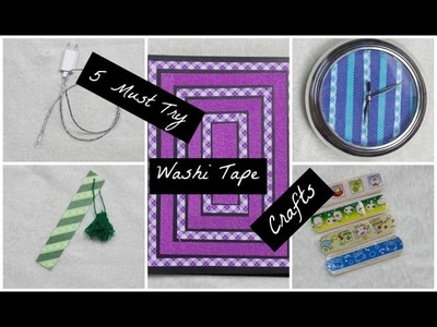 5 DIY Washi Tape Crafts You Need To Try! | #DIYWeek Day 3