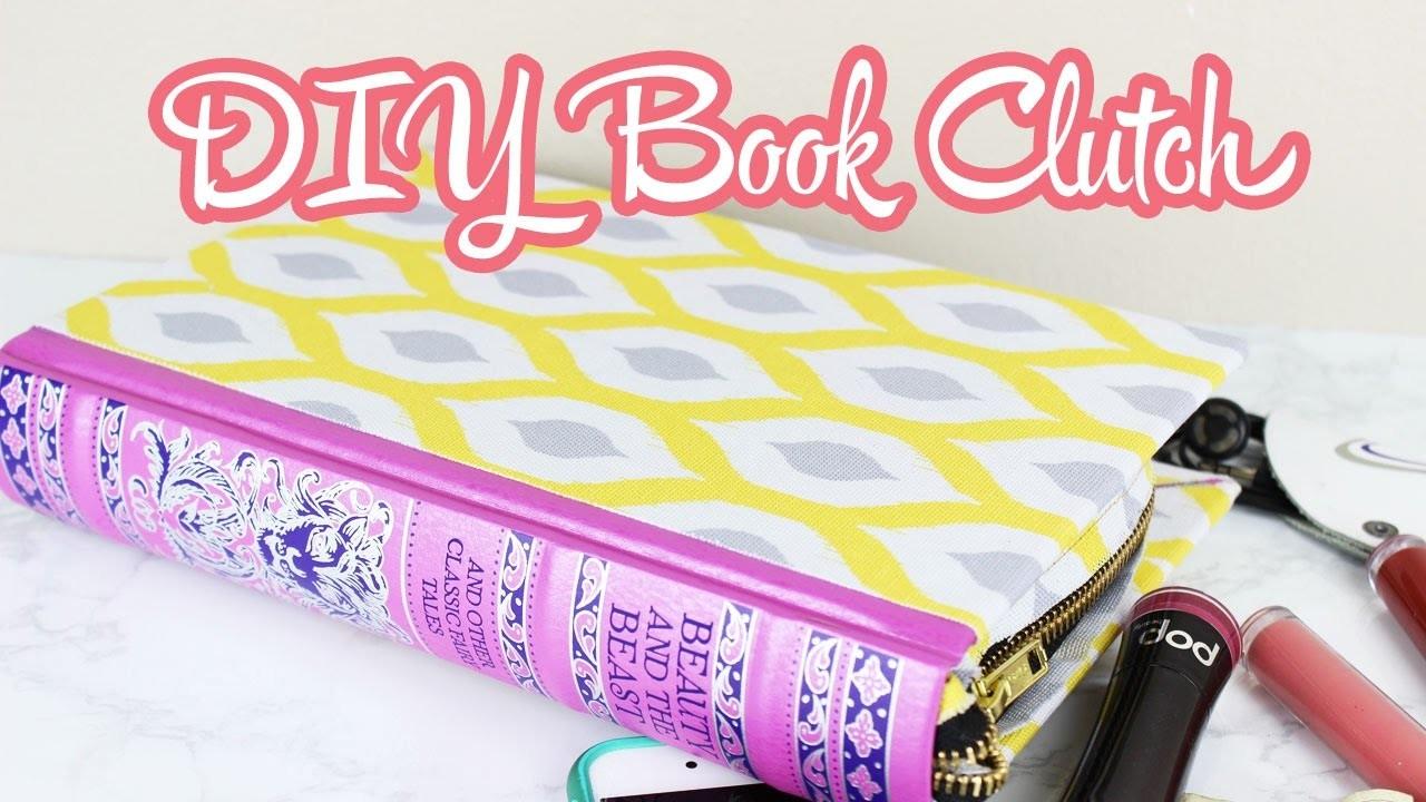 Beauty And The Beast Book Clutch DIY   Beauty And The Beast Week   parejeda