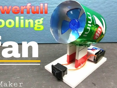 DIY air cooling fan - [ how to make ]