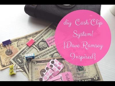 DIY Cash Clip System! {Money Monday}