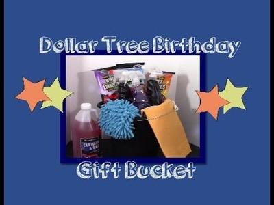 DIY Dollar Tree Gift Bucket. .