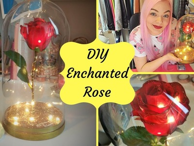 DIY Enchanted Rose | Beauty & the Beast