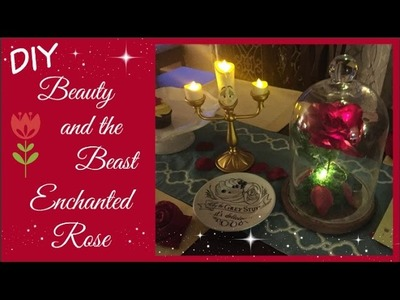 DIY: ENCHANTED ROSE FROM BEAUTY & THE BEAST | beingmommywithstyle