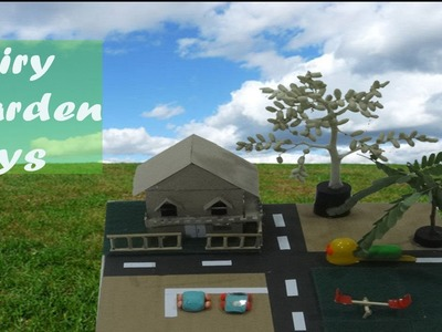 DIY Fairy Garden ideas #2 - Cardboard Crafts for kids