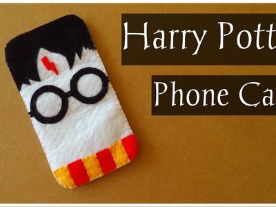 DIY: Harry Potter Felt Phone Case | My Crafting World