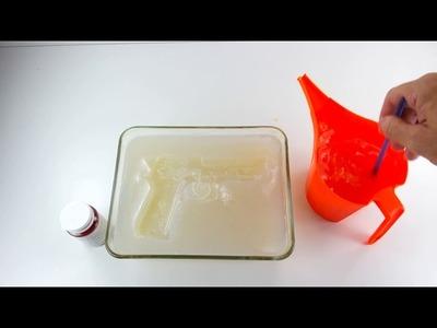 DIY  How to make Jelly Guns!   Edible Gummy dessert for Kids! ????