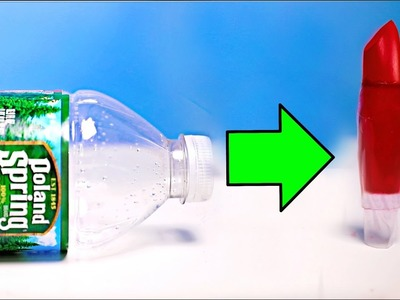 DIY MAKEUP OUT OF WATER BOTTLES!