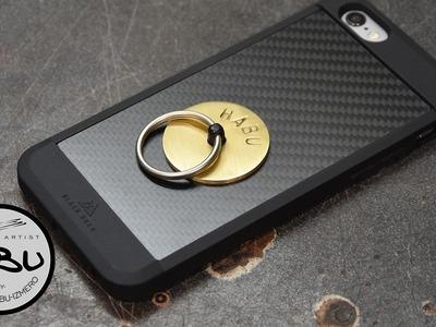 DIY \\ Mobile phone ring holder