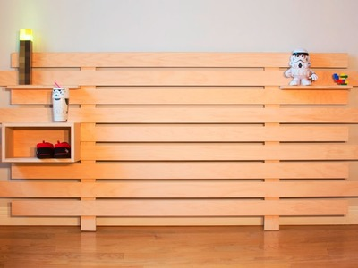DIY Modular Headboard - Woodworking