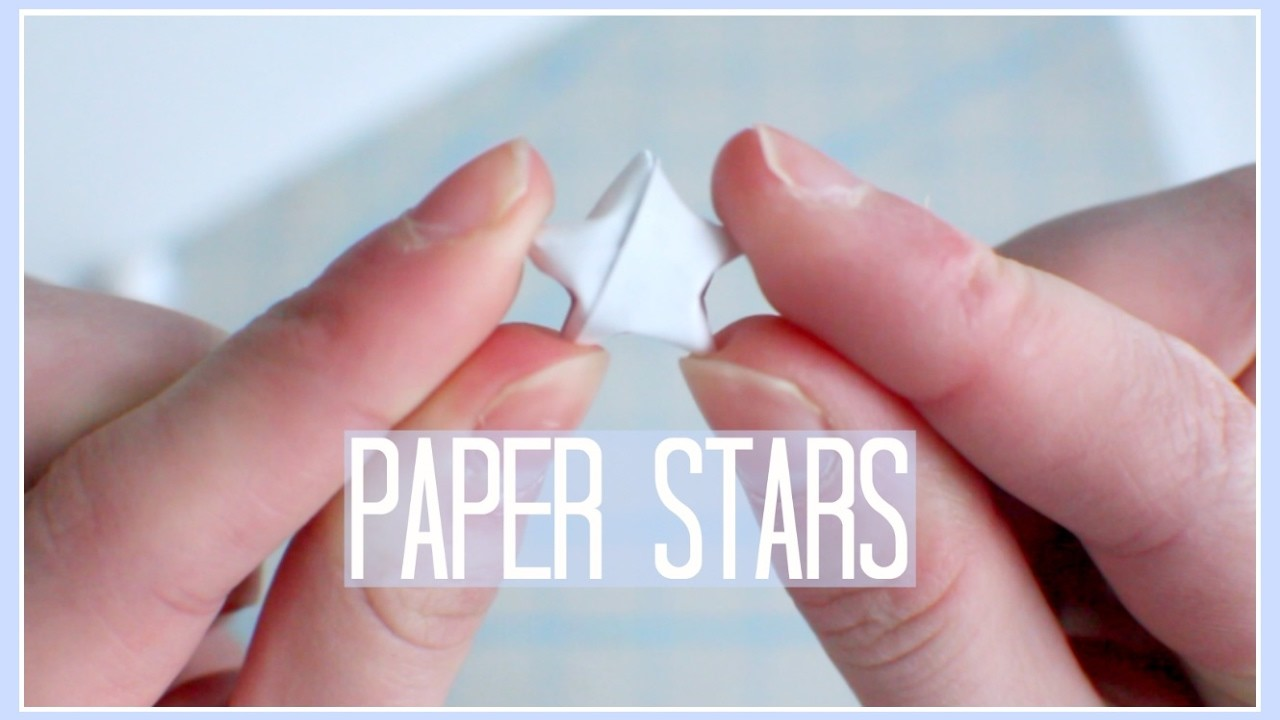 Diy paper stars my crafts and diy projects for Diy paper stars