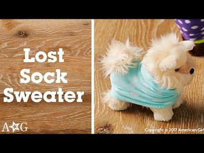 DIY Pet Sweater! | OMaG | American Girl