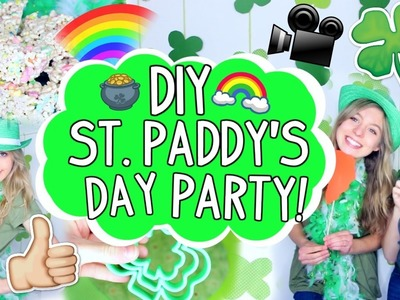 DIY St. Patrick's Day Party!! | Treats, Decor + More!!