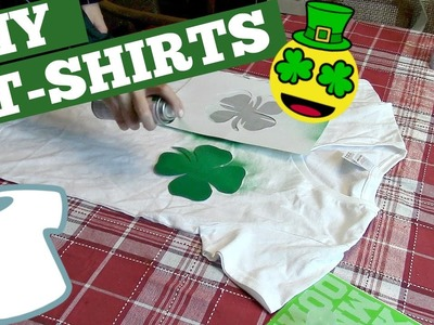 DIY St. PATRICKS DAY T-SHIRTS! | COLLAB!