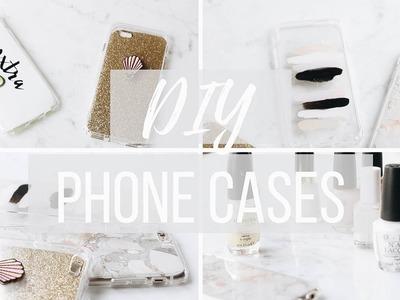 DIY TUMBLR PHONE CASES |  Marble + Minimalist