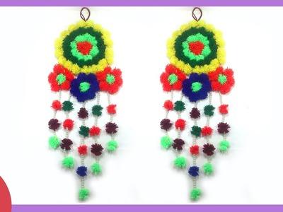 DIY  Woolen Wall Hanging Design by Sonali