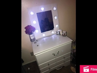 Dollar Tree DIY Vanity Mirror