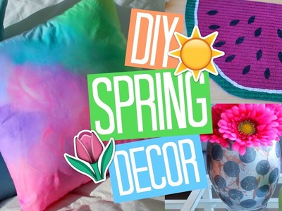 Easy DIY Spring Room Decor Ideas 2017!