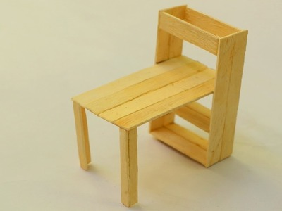 How to make a popsicle stick table | DIY Wooden Home Furniture