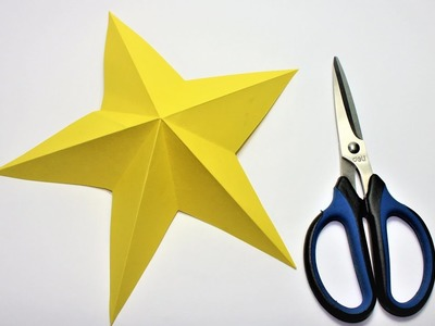 ✓ How to Make Simple and  Easy Paper Star |  Mr. cool | origami