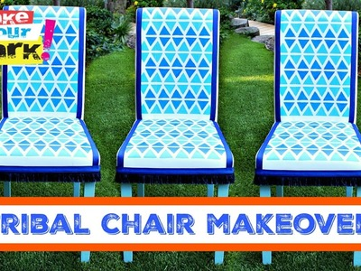 How to: Tribal Chair Makeover