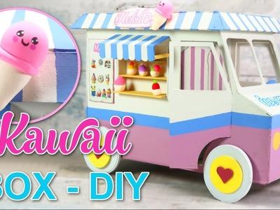 KAWAII DIY CRAFTS CHILDREN ROOM DECOR - ORGANIZER BOX - EASY INEXPENSIVE Ideas