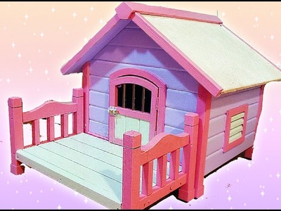 KAWAII DOG HOUSE DIY