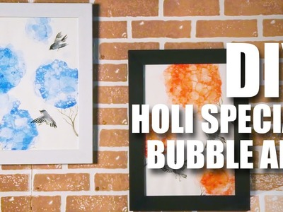 Mad Stuff With Rob - DIY Holi Special | Bubble Art