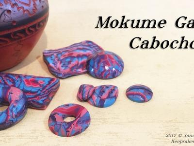 Mokume Gane Cabochons-Polymer Clay Tutorial