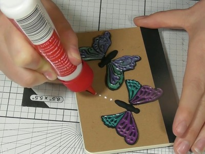 NEW Katy Sue butterfly mould tutorial with polymer clay