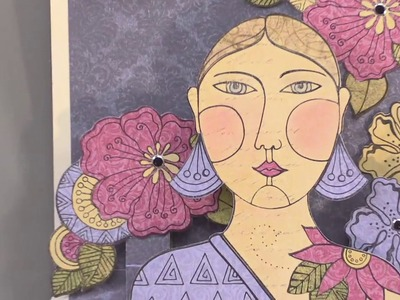 Pop-Up Stages Cutting Die & Laurel Burch Stamps - Paper Wishes Weekly Webisodes