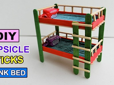 Popsicle stick Crafts - Bunk bed toys DIY