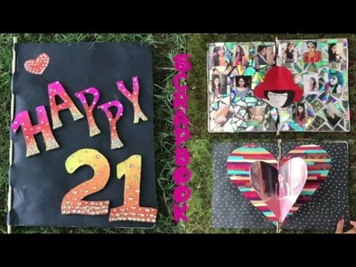 Scrapbook ideas | for special person | Unique ideas | Go DIY for friends birthday