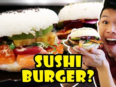 SUSHI BURGER: DIY Tasty or Too Much? || Life After College: Ep. 535