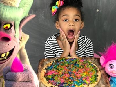 TROLLS BERGENS Chef Bake a Bridget Poppy DIY Unicorn Pizza Toys andMe