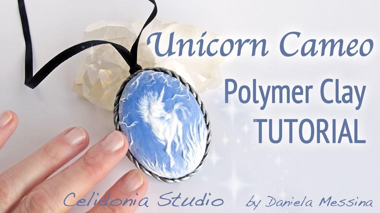 how to make a clay unicorn
