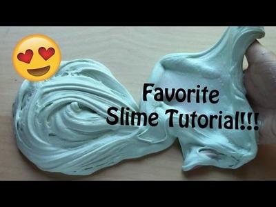 8 INGREDIENT SLIME! Favorite slime tutorial