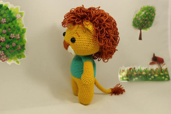 Lion King Amigurumi : Amigurumi Cute King Lion Mycrafts pattern pdf 46 pages ...