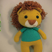 Amigurumi Cute King Lion Mycrafts pattern pdf  46 pages