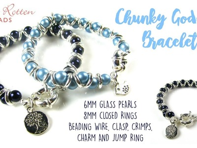 Chunky Goddess Bracelet Tutorial